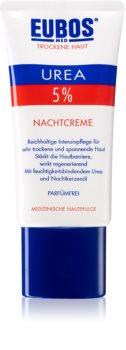 Eubos Dry Skin Urea 5% поживний нічний крем для чутливої та гіперчутливої шкіри