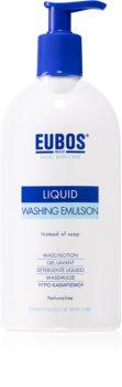 Eubos Basic Skin Care Blue emulzija za čišćenje bez parfema