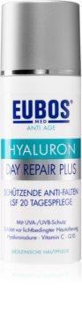 Eubos Hyaluron schützende Creme gegen Hautalterung SPF 20