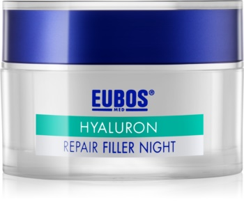 Eubos Hyaluron regenerujący krem na noc przeciw zmarszczkom
