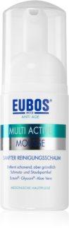 Eubos Multi Active mousse nettoyante douce visage