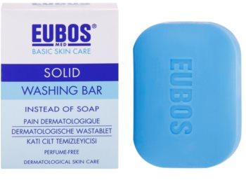 Eubos Basic Skin Care Blue Syndet sæbebar Parfumefri