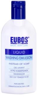 Eubos Basic Skin Care Blue измиваща емулсия без парфюм