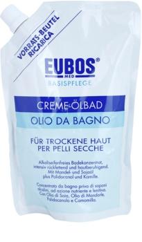 Eubos Basic Skin Care óleo de banho para a pele seca recarga