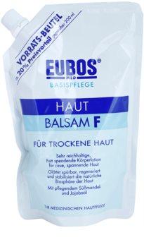 Eubos Basic Skin Care F bálsamo corporal para pele seca recarga