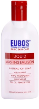 Eubos Basic Skin Care Red émulsion lavante sans parabène