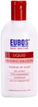Eubos Basic Skin Care Red emulsión limpiadora sin parabenos