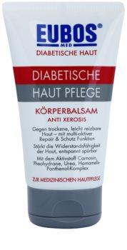 Eubos Diabetic Anti Xerosis bálsamo corporal de proteção com efeito nutritivo de longa duração
