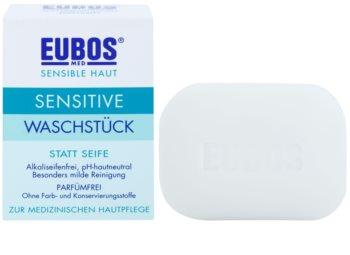 Eubos Sensitive твердое мыло без запаха
