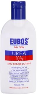 Eubos Dry Skin Urea 10% подхранващ лосион за тяло за суха и сърбяща кожа
