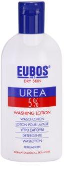 Eubos Dry Skin Urea 5% sabonete líquido para pele muito seca