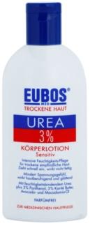 Eubos Dry Skin Urea 3% leite corporal para pele sensível