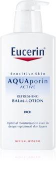 Eucerin Aquaporin Active leite corporal para peles secas e sensíveis