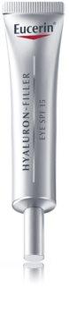 Eucerin Hyaluron-Filler crema para contorno de ojos antiarrugas profundas