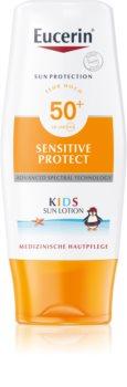 Eucerin Sun Kids Skyddande lotion för barn  SPF 50+
