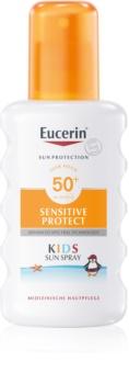 Eucerin Sun Kids spray protector pentru copii SPF 50+