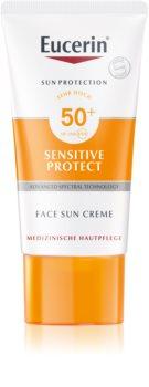 Eucerin Sun Sensitive Protect schützende Gesichtscreme SPF 50+