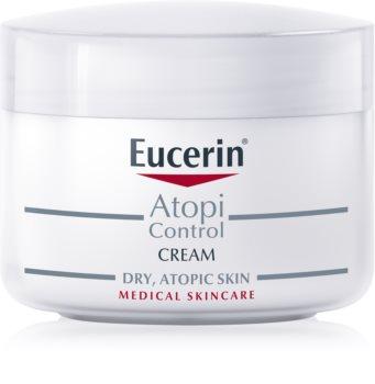 Eucerin AtopiControl crème pour peaux sèches avec démangeaisons