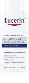 Eucerin AtopiControl Bruse- og badegel Til tør og kløende hud