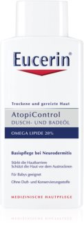 Eucerin AtopiControl λάδι για ντους και μπάνιο για ξηρό και κνησμώδες δέρμα