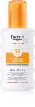 Eucerin Sun Beskyttende spray SPF 50+