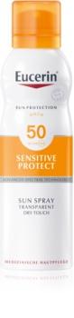 Eucerin Sun Sensitive Protect spray bronzeador SPF 50