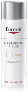 Eucerin Hyaluron-Filler CC Cream gegen tiefe Falten LSF 15