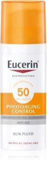 Eucerin Sun Photoaging Control emulsie protectoare antirid SPF 50