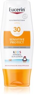 Eucerin Sun Kids mleczko ochronne z mikropigmentami dla dzieci  SPF 30