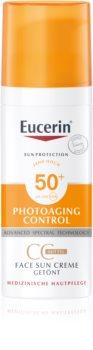 Eucerin Sun Photoaging Control CC krém na opaľovanie SPF 50+