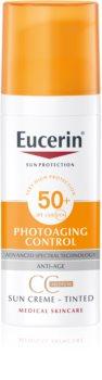 Eucerin Sun Photoaging Control CC napvédő krém  SPF 50+