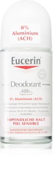 Eucerin Deo Deo roll-on uden aluminium til sensitiv hud