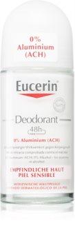 Eucerin Deo Deoroller ohne Aluminium für empfindliche Oberhaut