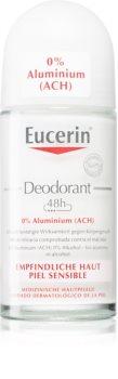 Eucerin Deo дезодорант рол-он без алуминий за чувствителна кожа