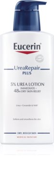 Eucerin UreaRepair PLUS leite corporal para pele seca