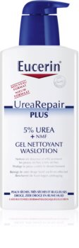 Eucerin Dry Skin Urea gel de ducha reparador de la barrera cutánea