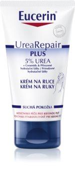 Eucerin UreaRepair PLUS creme de mãos para pele seca