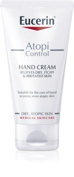 Eucerin AtopiControl crema de manos para pieles secas y atópicas