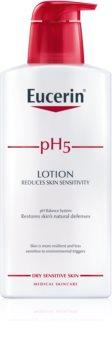 Eucerin pH5 testápoló tej az érzékeny bőrre