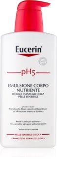 Eucerin pH5 leite corporal nutritivo  para pele sensível