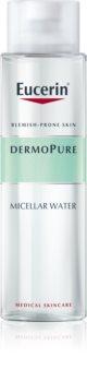 Eucerin DermoPure tisztító micellás víz a problémás bőrre
