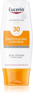 Eucerin Sun Photoaging Control Ekstralet kropssolcreme SPF 30