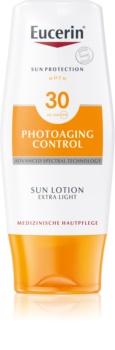 Eucerin Sun Photoaging Control Erittäin Kevyt Aurinkovoide Vartalolle SPF 30