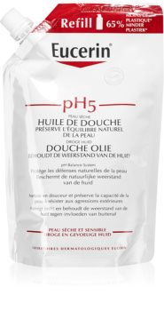 Eucerin pH5 huile de douche pour peaux sensibles recharge