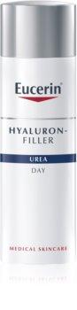 Eucerin Hyaluron-Filler Urea crema giorno antirughe per pelli molto secche