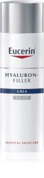 Eucerin Hyaluron-Filler Urea crema notte antirughe per pelli molto secche
