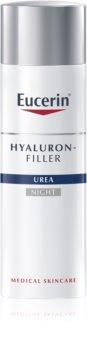 Eucerin Hyaluron-Filler Urea нощен крем против бръчки  за много суха кожа
