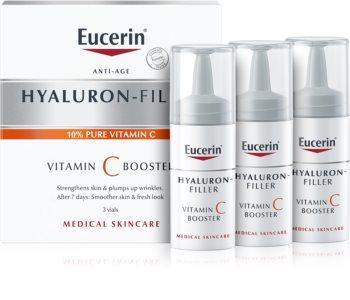 Eucerin Hyaluron-Filler Vitamin C Booster озаряващ серум против бръчки с витамин С