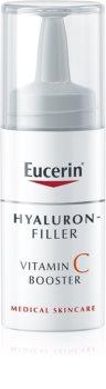 Eucerin Hyaluron-Filler Vitamin C Booster aufhellendes Serum gegen Falten mit Vitamin C