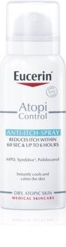 Eucerin AtopiControl Spray pour un soulagement immédiat des démangeaisons et des irritations